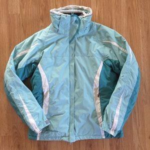 Columbia winter jacket parka interchangeable coat